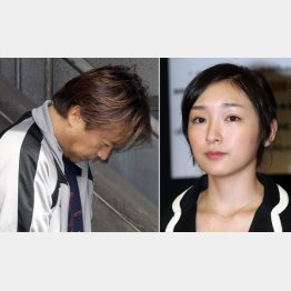加護陽彦容疑者(左)と加護亜依(C)日刊ゲンダイ