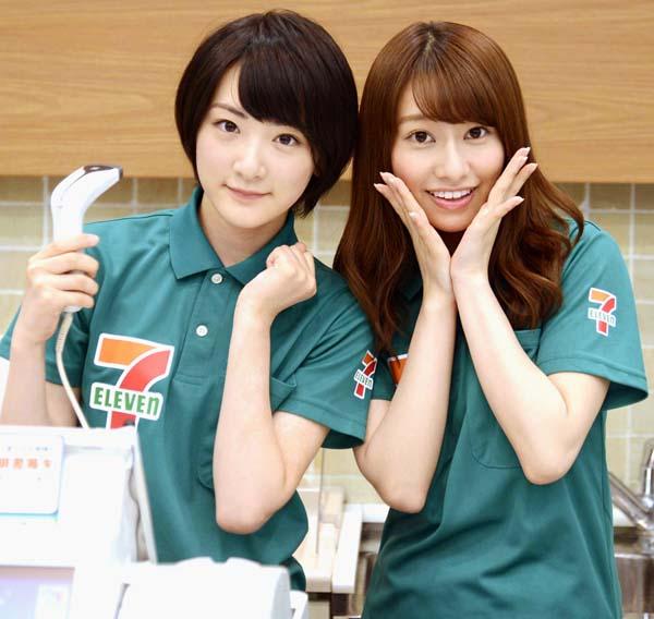 乃木坂46の生駒里奈(左)と桜井玲香(C)日刊ゲンダイ