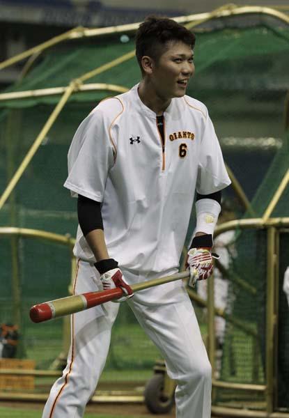 練習で坂本は笑顔だったが…(C)日刊ゲンダイ
