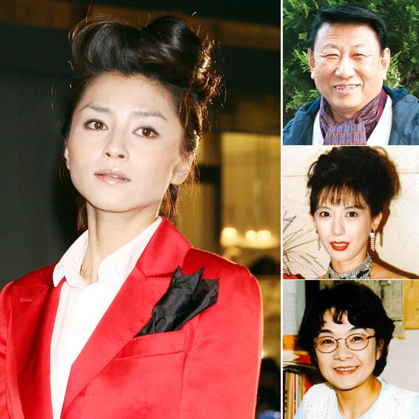 宝生舞さん(左)、右上から砂塚秀夫さん、小林ひとみさん、原悦子さん(C)日刊ゲンダイ