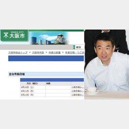 国政にかまけて市政をおざなり(C)日刊ゲンダイ