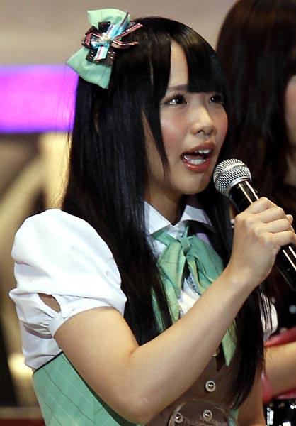 AKB48選抜総選挙では13位に(C)日刊ゲンダイ