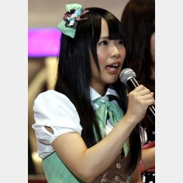 AKB48選抜総選挙では13位に