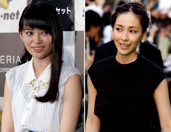 麻生久美子はザリガニ食い(左は滝口ひかり)(C)日刊ゲンダイ
