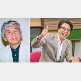 故・筑紫哲也氏(左)と山路徹氏(C)日刊ゲンダイ