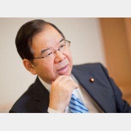 安倍首相との5月20日の党首討論が話題に(C)日刊ゲンダイ