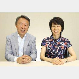 池上彰氏と枡田ユリヤさん(C)日刊ゲンダイ
