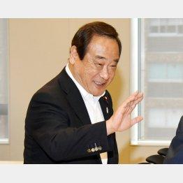 反省ゼロの大西議員(C)日刊ゲンダイ