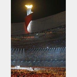 08年の北京五輪開会式の様子(C)JMPA