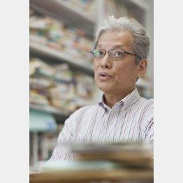 政治学者の山口二郎法大教授(C)日刊ゲンダイ