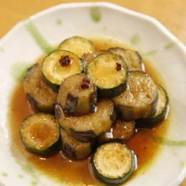 ナスとズッキーニの花椒煮(教える人:吉田勝彦「ジーテン」)