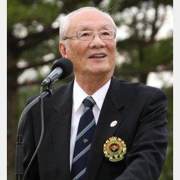 辞任したJGA元会長・安西孝之氏