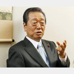 野党共闘を訴える小沢一郎氏(C)日刊ゲンダイ