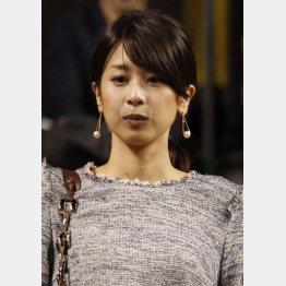 """退社報道は""""観測気球""""という声も(C)日刊ゲンダイ"""