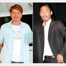 ヒロミ(左)とAKIRA(C)日刊ゲンダイ
