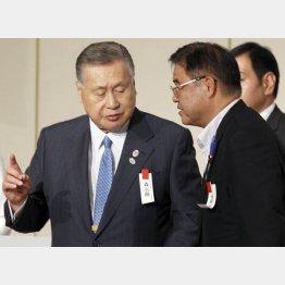 森喜朗氏こそ言いだしっぺ(C)日刊ゲンダイ