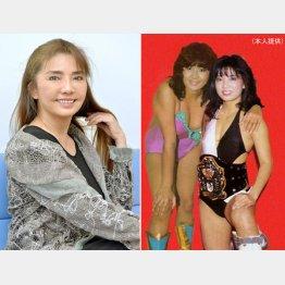負け続けて人気が出た。左は現在のミミ萩原さん(C)日刊ゲンダイ