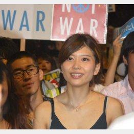 SEALDsの中心的メンバー・紅子さん(C)日刊ゲンダイ
