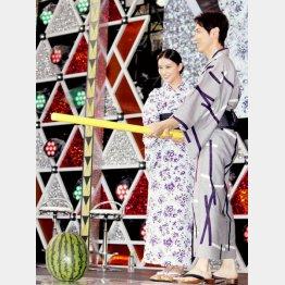 武井咲と小泉孝太郎
