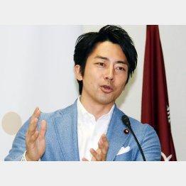 初ロマンスが報じられた小泉進次郎氏(C)日刊ゲンダイ