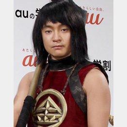 auのCMの金太郎役でお馴染み(C)日刊ゲンダイ