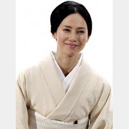 2016年1月で40歳になる中谷美紀(C)日刊ゲンダイ