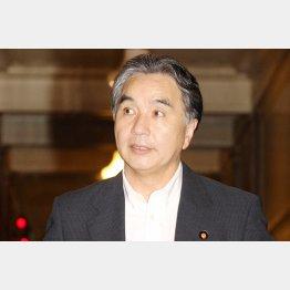 7日に岩手県知事選立候補取りやめを表明した平野氏(C)日刊ゲンダイ