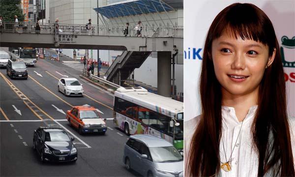 左は渋谷駅西口前の事故現場(C)日刊ゲンダイ