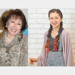 「浅丘さんのおかげ」と岩崎ひろみ(C)日刊ゲンダイ