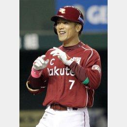 通算400二塁打をマークした松井稼頭央(C)日刊ゲンダイ