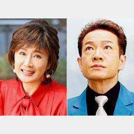 復活を遂げた小林幸子と田原俊彦(C)日刊ゲンダイ