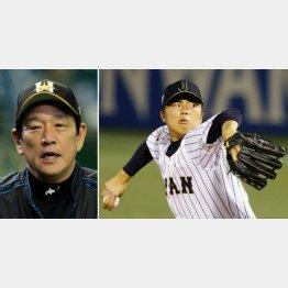 田中の投球に栗山監督もホレボレ
