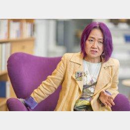浜矩子・同志社大大学院教授(C)日刊ゲンダイ