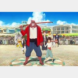 映画「バケモノの子」(C)2015 THE BOY AND THE BEAST FILM PARTNERS