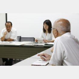 一方的にしゃべるのも特徴(写真はイメージ)/(C)日刊ゲンダイ