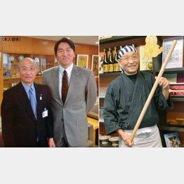 松井秀喜(左)も全幅の信頼をおいていた
