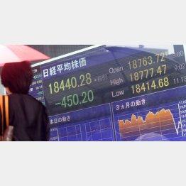 景気対策はデマカセか?(C)日刊ゲンダイ