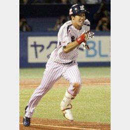6日の広島戦で30盗塁を達成した山田(C)日刊ゲンダイ