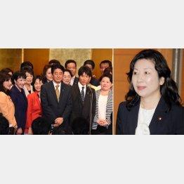 出陣式は野田氏(右)を除く全議員へ招待状を送付/(C)日刊ゲンダイ