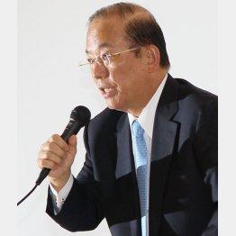 武藤敏郎事務総長が熱弁も…(C)日刊ゲンダイ