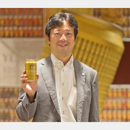 「毎晩、自宅でヱビスを2本飲んでいます」と語る桑原さん(C)日刊ゲンダイ