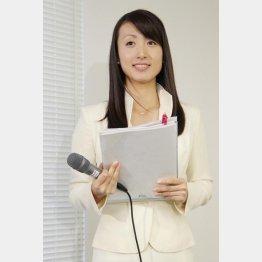 「Mプラス11」の前田海嘉アナ(C)日刊ゲンダイ