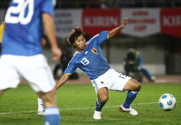 意外にも代表では4得点(C)六川則夫/ラ・ストラーダ