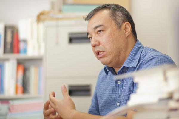 中野晃一・上智大教授(C)日刊ゲンダイ