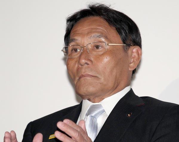 JSCの新理事長に決まった大東和美氏(C)日刊ゲンダイ