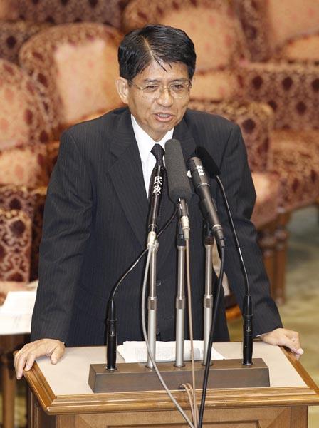 横畠裕介内閣法制局長官(C)日刊ゲンダイ