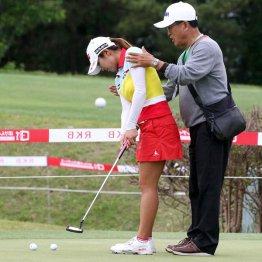 韓国選手はよく練習する(写真はイ・ボミ)/(C)日刊ゲンダイ