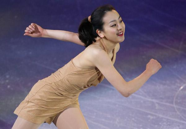 浅田真央はのプログラムは「蝶々夫人」(C)日刊ゲンダイ