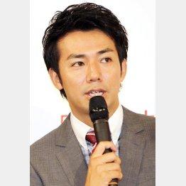 こなれた芝居を見せるピース綾部(C)日刊ゲンダイ