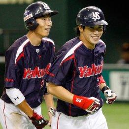 山田(右)はトリプルスリー達成(C)日刊ゲンダイ